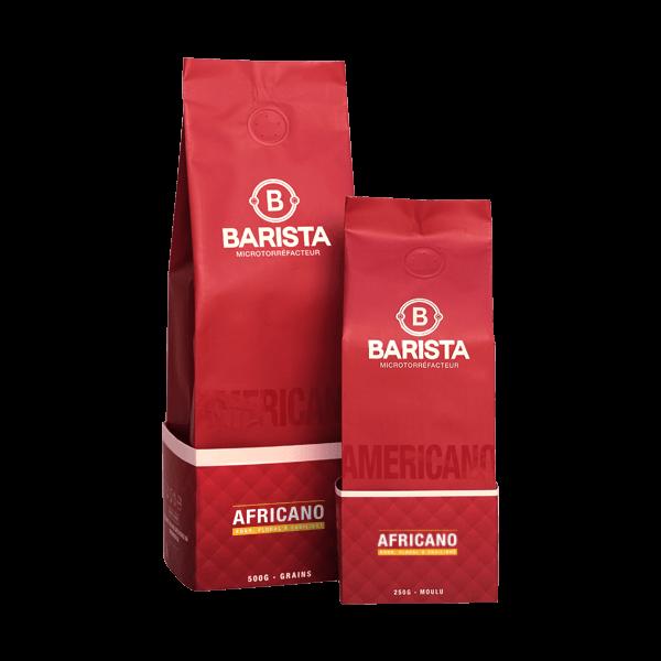 Café Barista - Americano - Africano